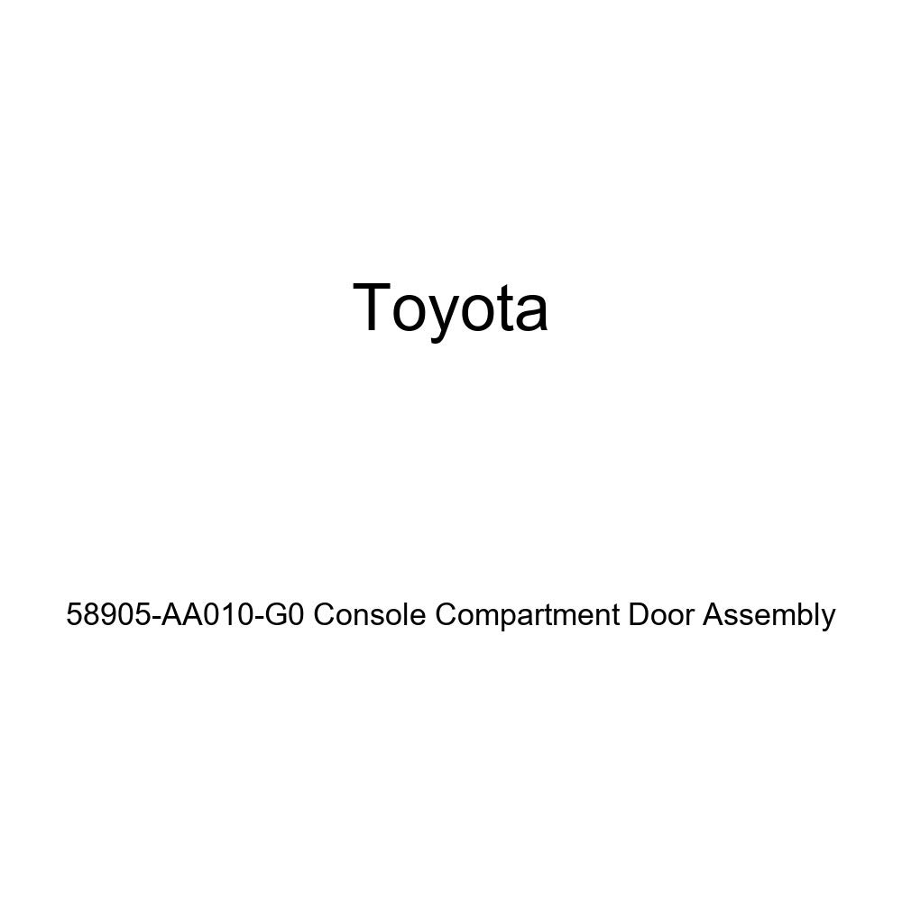 Genuine Toyota 58905-AA010-G0 Console Compartment Door Assembly