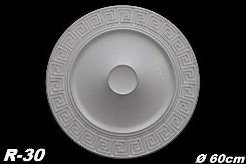 R-30 5 Rosetten Wand Deckenrosetten Dekorrosetten Decke Dekor Polystyrol /Ø60cm