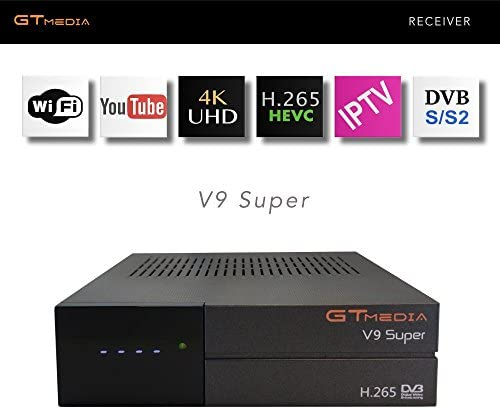 GTMEDIA V9 SUPER, DVB-S2, H.265 HEVC, RECEPTOR DE TV POR SATELITE, IPTV, DECODIFICADOR, RECEIVER: Amazon.es: Electrónica