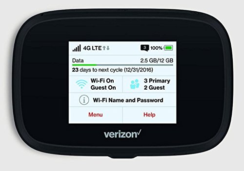 Novatel Verizon Wireless Jetpack 7730L 4G LTE Advanced Mobile Hotspot by Novatel Wireless