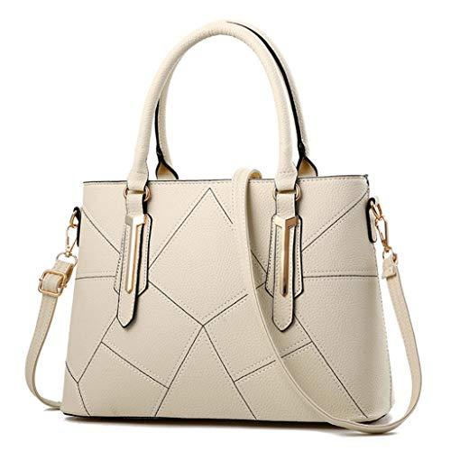 24 Shoulder purple Handbag 33 13cm Size Women's ZXW Bag handbag Fashion Colors Color Bag Multi 33x24x13cm 9 White function Deep 1wq7Xw