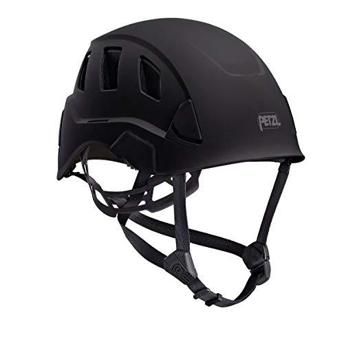 (Petzl Strato Vent Rope Access Rescue Black Helmet ANSI Z89.1 OSHA)