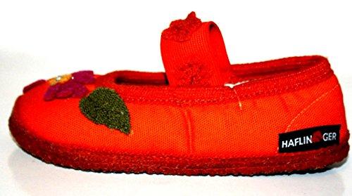 Haflinger , Chaussons pour fille Orange  Orange 25