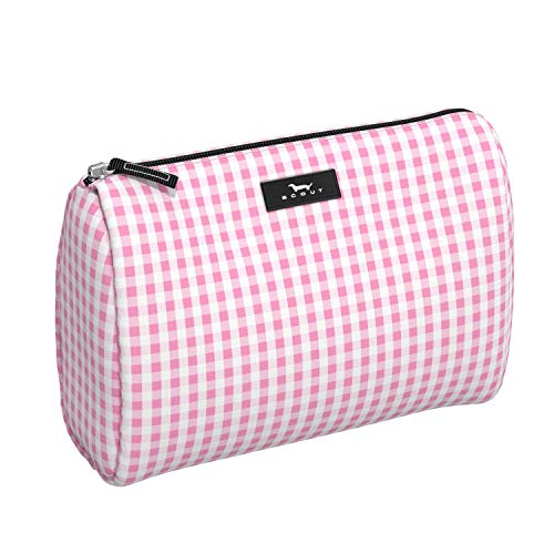 Scout Accessory - SCOUT PACKIN' HEAT Large Makeup Bag, Water-Resistant Toiletry and Makeup Pouch for Women with Zipper Closure (Multiple Patterns Available)