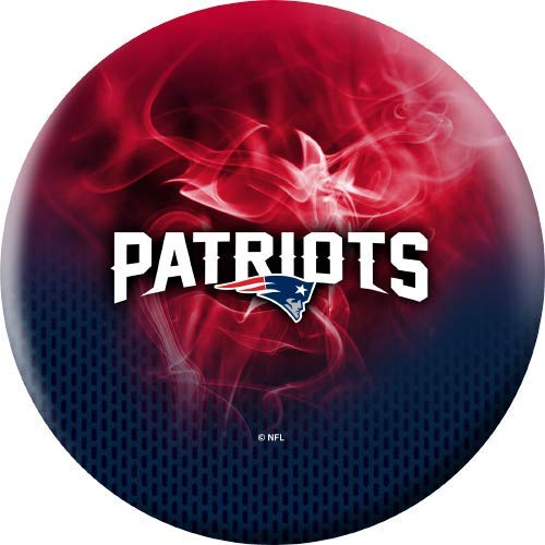 NFL-New-England-Patriots-On-Fire-Undrilled-Bowling-Ball