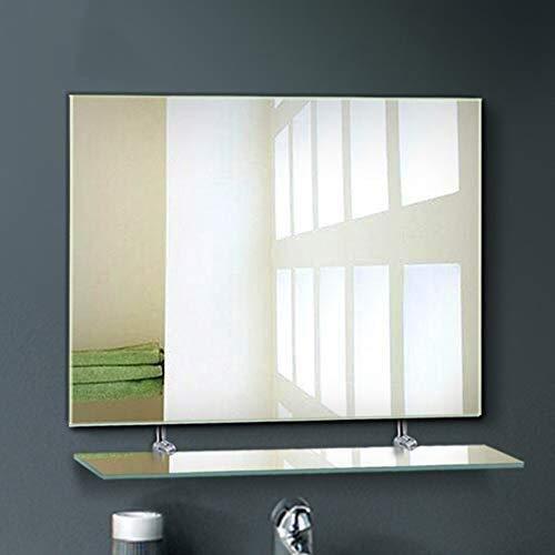 Bathroom Mirror,Bathroom Mirror Shelf Combination Bathroom Mirror Wash Mirror Bathroom Bathroom Vanity Mirror 75 100cm