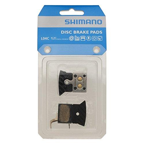 Shimano BR-RS805/RS505 Flat Mount (L04C) Metallic Ice-Tech Disc Brake Pad Metallic, One Size