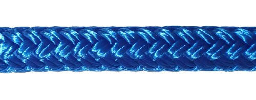 Titan 10618925, Double Braid Nylon Dockline 10618925 3/8 inch by 25 feet, 12 inch eye splice