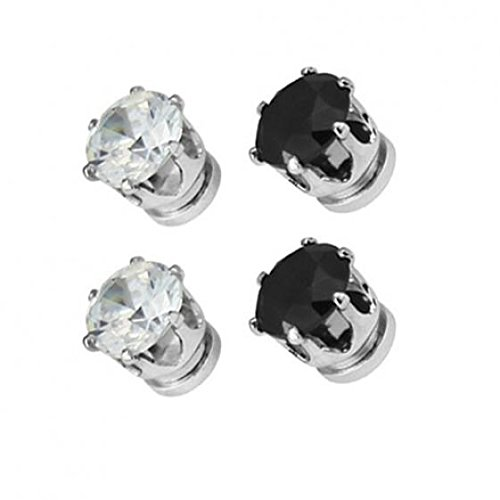 1 Pair of Magnet Earrings Popular Clip No Piercing Men's and Women's Popular Jewelry Party by AxiEr (Image #5)