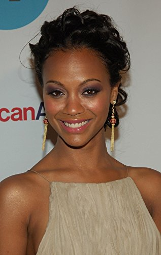 2006 8x10 Framed Photo - Zoe Saldana At Arrivals For People En Espanol 50 Most Beautiful Gala Skylight Studios New York Ny May 17 2006 Photo By Slaven VlasicEverett Collection Photo Print (8 x 10)