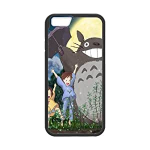 My Neighbour Totoro iPhone 6 Plus 5.5 Inch Cell Phone Case Black 8You233665