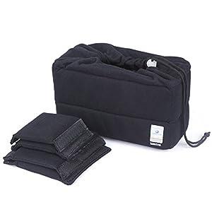 Koolertron NEW Shockproof DSLR SLR Camera Bag Partition Padded Camera Insert, Make Your Own Camera Bag