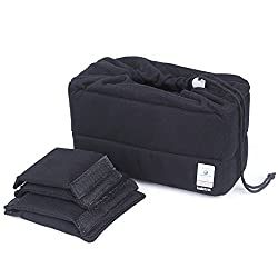 Koolertron New Shockproof Dslr Slr Camera Bag Partition Padded Camera Insert, Make Your Own Camera Bag (Black)