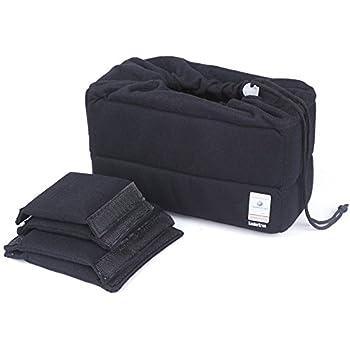 Koolertron NEW Shockproof DSLR SLR Camera Bag Partition Padded Camera Insert, Make Your Own Camera Bag (Black)
