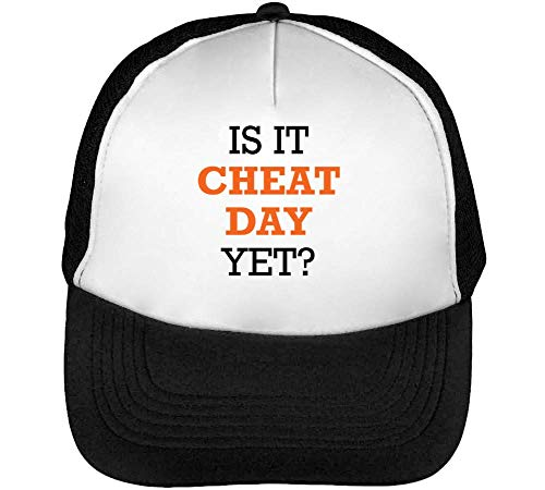 Is This Cheat Yet Gorras Hombre Snapback Beisbol Negro Blanco