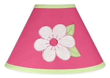 Amazon sweet jojo designs pink and green flower collection lamp sweet jojo designs pink and green flower collection lamp shade mightylinksfo