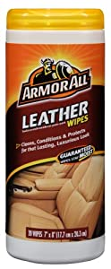 Armorall Leather Wipes Canister