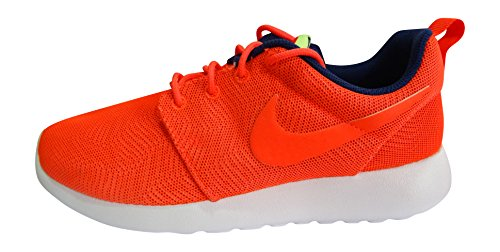 Nike Vrouwen Roshe Een Moiré-sportschoen Helder Karmozijnrood Wit 661