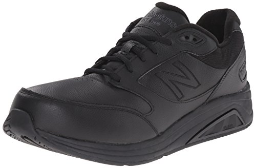 New Balance Hombre MW928V2 Walking Shoe, Black, 45 EU
