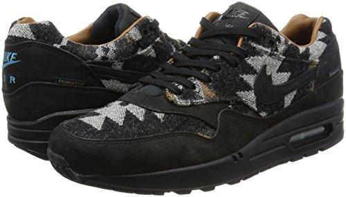 MAX Pnd Air de Negro para QS Deporte Hombre NIKE Zapatillas 1 5qHxqwt