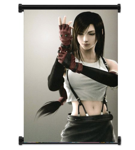 Final Fantasy VII Advent Children Tifa Fabric Wall Scroll Poster (16