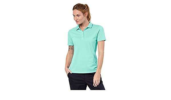 Jack Wolfskin Womens/Ladies Pique Polo Polycotton Casual Polo ...