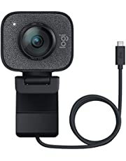 Logitech StreamCam – Live Streaming Webcam for Youtube and Twitch, Full 1080p HD 60fps, USB-C Connection, AI-enabled Facial Tracking, Auto Focus, Vertical Video, Windows and Mac Compatible - Graphite