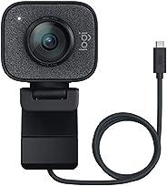 Webcam Full HD Logitech StreamCam Plus para Streaming e Criação de Conteúdo com Microfone Embutido, Conexão US