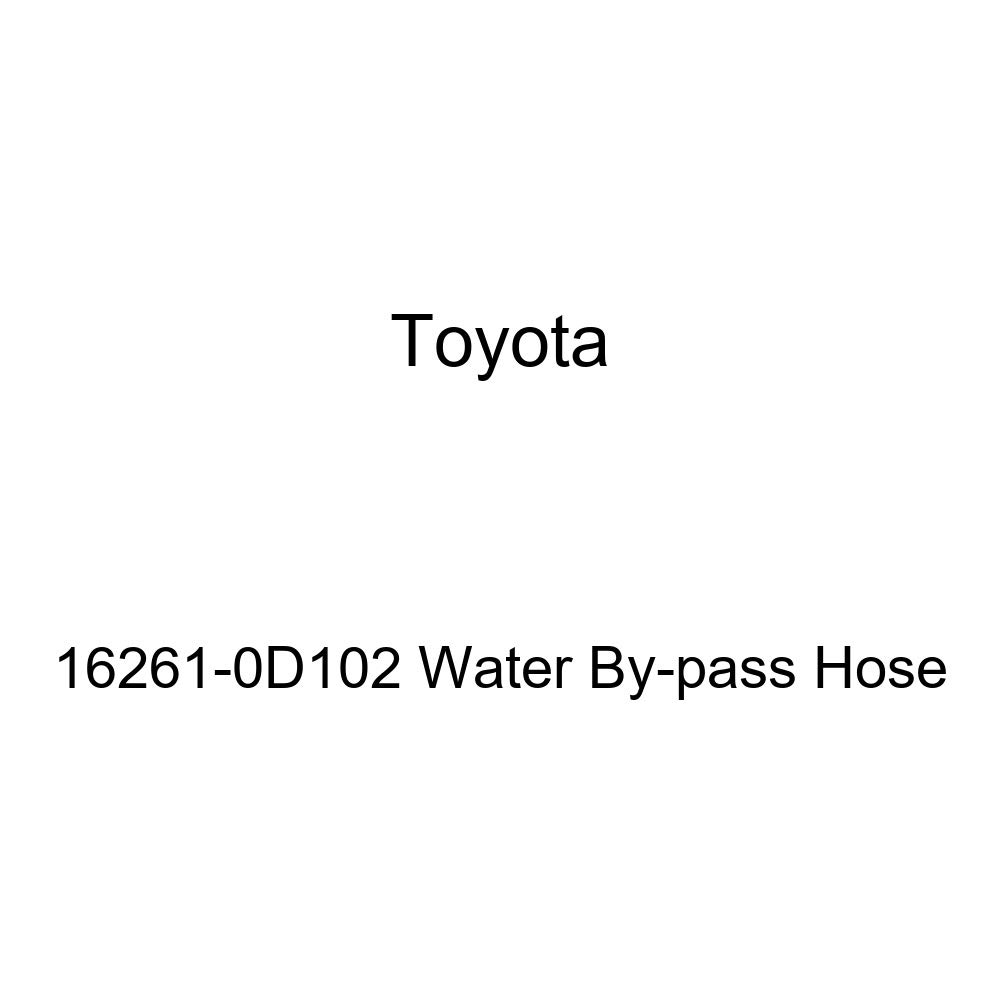 Genuine Toyota 16261-0D102 Water By-pass Hose