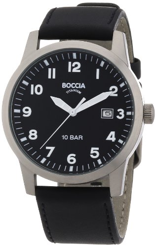 Boccia Men's Watch 597-03 Leather