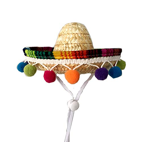 Crazy Night Mini Sombrero Top Hat Headband Fiesta Party Supplies Mini Sombrero Top Hat Headband Fiesta Party Supplies (Candy Color)