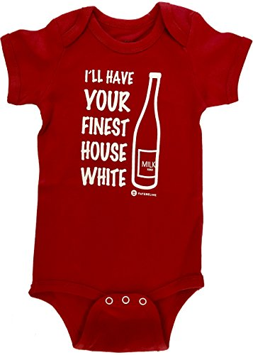 Baby Shower Gifts Grandma (Fayfaire Baby Shower Gifts Outfit : Boutique Quality Funny I'll Have Your Finest House White NB-6M)