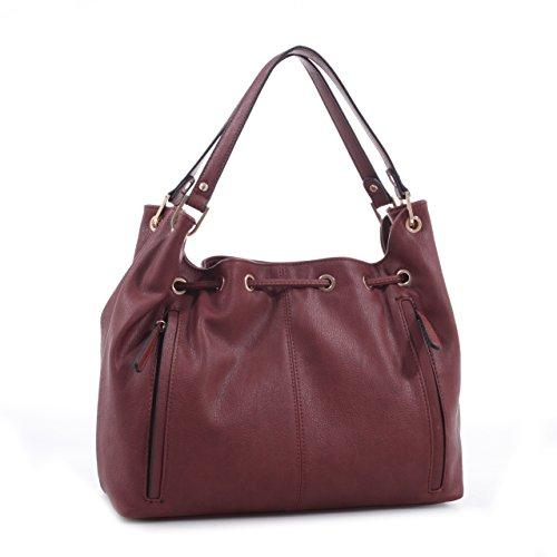 Hobo Emperia Purse Brown Dark Bag Carry Concealed Jasmine Outifitters by qBattO