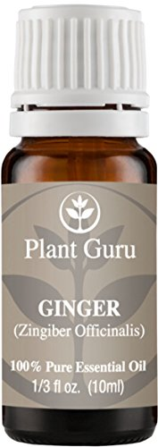 Ginger (Root) Essential Oil. 10 ml. 100% Pure, Undiluted, Therapeutic Grade.