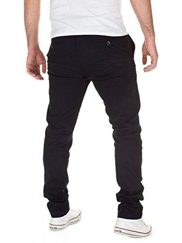 Slim Navy Designer Hombre Adriano Para Pantalones 62118 Wotega Chino PF5nqq