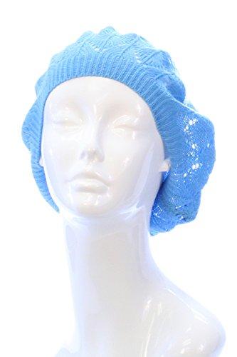 ba5f54155b105 BSB Womens Lightweight Cut Out Knit Beanie Beret Cap Crochet Hat - Many  Styles