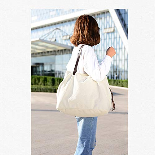 Hobo Blue TM Style Canvas KISS Top Shoulder Bag Tote Handle GOLD Bag Large Casual RgZT8O