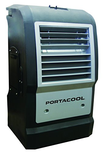 Portacool PACCYC06 Cyclone 1000 Portable Evaporative Cooler with 300 Square Foot Cooling Capacity by Portacool
