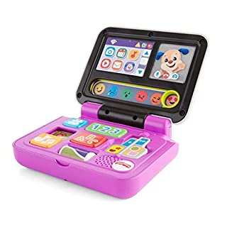 Fisher-Price Laugh & Learn Click & Learn Laptop,Multicolor