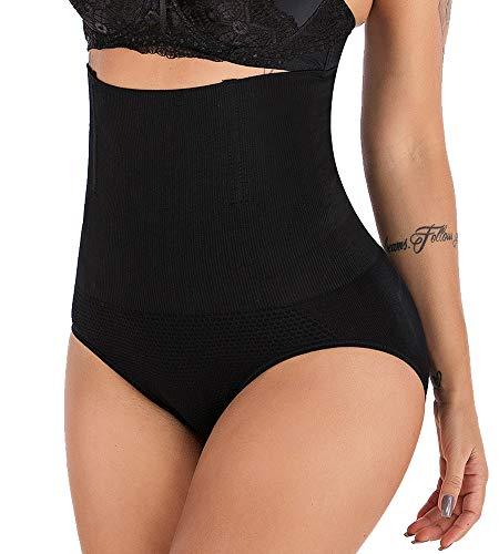 DODOING Womens High Waist Butt Lifter Shapewear Tummy Control C-Section Recovery Panties Underwear Black