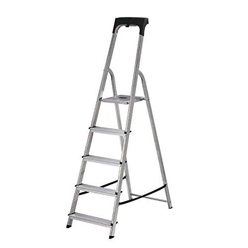 ABRU 71705 Promaster 5 Tread Step Ladder 60605, Silver