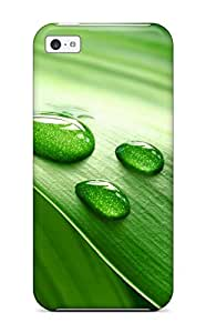 Hot Style LAXUVTJ10575XlzeF Protective Case Cover For Iphone5c(k Wallpapers Leaves )