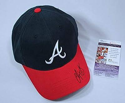 Chipper Jones Autographed Signed Atlanta Braves Hat Memorabilia JSA COA