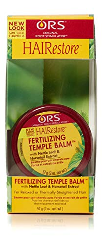 Organic Root Stimulator Fertilizing - ORS HAIRestore Fertilizing Temple Balm with Nettle Leaf and Horsetail Extract