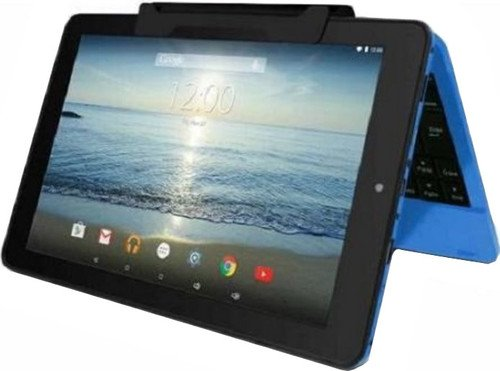 Buy Discount RCA Viking Pro 10 2-in-1 Tablet 32GB Quad Core Blue Laptop Computer with Touchscreen a...