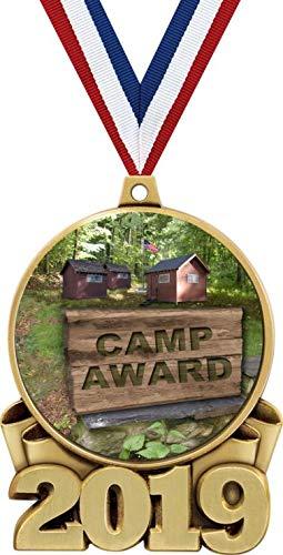 キャンプメダル 3インチ 2019 キャンプ賞メダル グレートキャンプメダル プライム