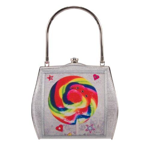 Helen Rochfort borsa RAINBOW SWIRL lollopop - edizione limitata-