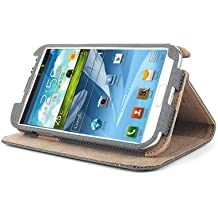 ForestGreen FHBS-503GRY Basic Case with Screen Protector Film for Galaxy Note 2 - 1 Pack - Retail Packaging - Gray