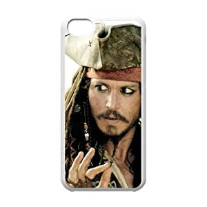 Pirates of the Caribbean iPhone 5c Cell Phone Case White hlu
