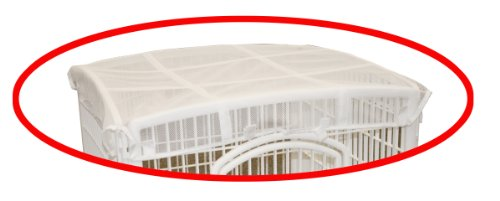 IRIS Mesh Security Roof, designed for use with the IRIS 24'' 4-Panel Pet Playpen by IRIS USA, Inc. (Image #1)